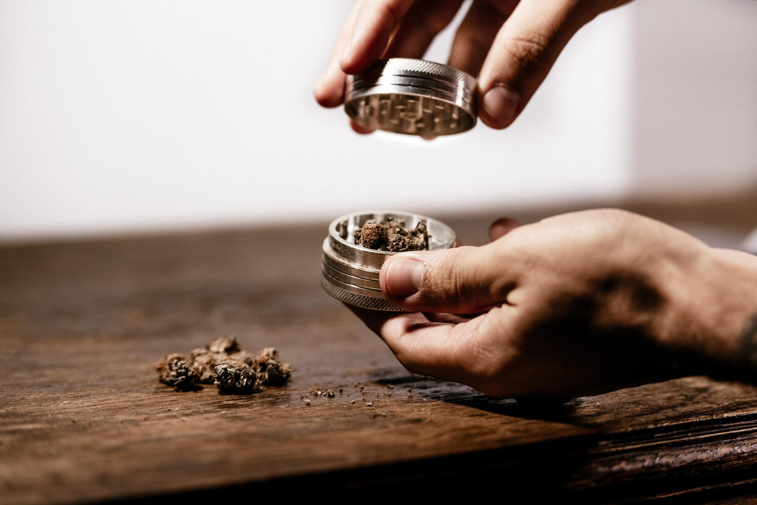 Grinder per tritare marijuana